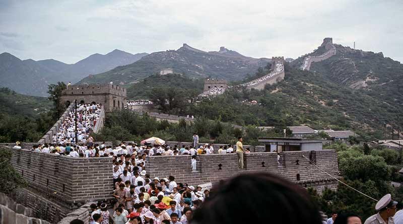 Great Wall of China tourist image