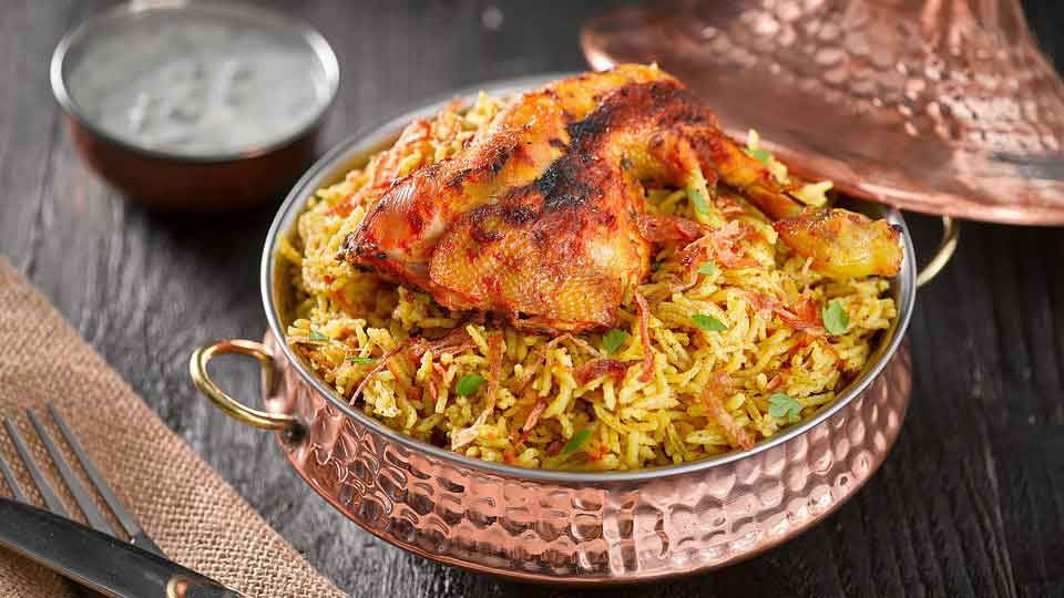 Best Indian Food - Hyderabadi Biryani